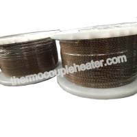 Wholesale Type K Fiberglass Thermocouple Compensating Cable 24AWG Solid  , American Standard from china suppliers