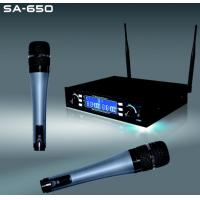 Wholesale SA-650 Dual channels wireless microphone system from china suppliers