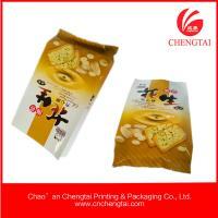 Wholesale 80micron Food Grade Gusseted Plastic Bags for biscuit packaging from china suppliers