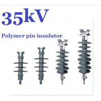 Wholesale 11kV - 36kV Silicon Rubber Polymer Pin Insulator For HV Distribution Lines from china suppliers
