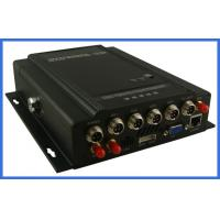 Wholesale MPEG-4 GPS vehicle DVR 4 channel H.264 Digital Video Recorder  HDD storage support from china suppliers