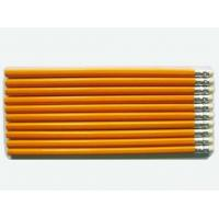 Wholesale 7 Inches HB Natural Wooden Pencil WithRubber Yellow Pencil from china suppliers