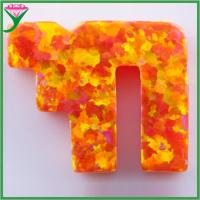 Wholesale wholesale price OP31 chai shape man-made mexico orange mystic opal from china suppliers