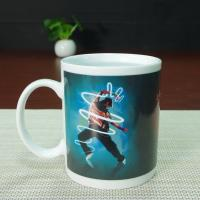Wholesale Fda Red Glazed bulk plain mug full printing color changing coffee mug from china suppliers
