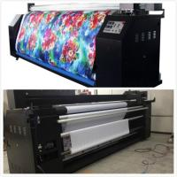 Quality Pennant Flags Sublimation Digital Textile Printing Machine 5.5KW for sale