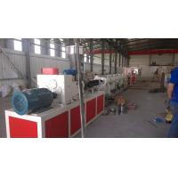 Wholesale Durable PVC Pipe Making Machine / Machinery With ABB Frequency Control from china suppliers
