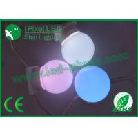 Wholesale 50mm Round RGB LED Pixel Programmable Ws2811ic Led Point Light IP66 from china suppliers