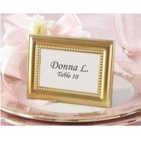 Wholesale Beautifully Beaded Photo Frame/Place Holder(Gold,Silver) from china suppliers