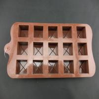 Wholesale New Buttons Chocolate Candy Cookie Cake Topper Jelly Silicone Mould Mold Tray from china suppliers