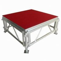 Wholesale Portable Waterproof Acrylic / Plywood Temporary Stage Platforms Heavy Loading Adjustable Height from china suppliers
