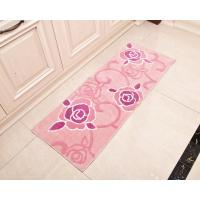 Wholesale Rectangular fashion comfortable Microfiber Floor Mat , pink office floor mat from china suppliers