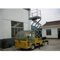 Wholesale Yellow / Blue Vehicle Mounted Work Platforms 9 meter Height With 306 kg Load from china suppliers