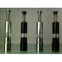 Wholesale Glass Handle Mini Stainless Steel Pepper Mills For Home Kitchen from china suppliers