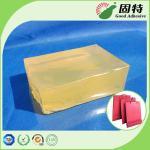Wholesale Yellow Block Hot Melt Pressure Sensitive Adhesive For Handbag Bottom Sealing from china suppliers