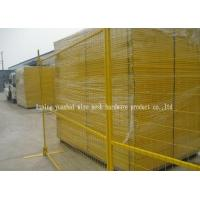 Wholesale Pvc Coated Wire Mesh Galvanized Steel Fence Panels Great Corrosion Resistance from china suppliers