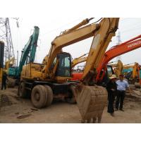 Quality Used Komatsu pc120-6 wheel  excavator for sale for sale
