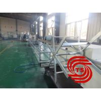 Wholesale HDPE Double Wall Corrugated Pipe Machine , Single / Double Extruder from china suppliers