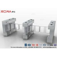 Wholesale Gym Swing Barrier Gate Electronic Stainless Steel Turnstile Double Swing IP 54 LED Indicator from china suppliers