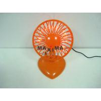Wholesale Energy Saving Office Small USB LED Message Fan with THANK YOU from china suppliers