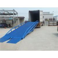 Wholesale Manual Control Portable Truck Loading Ramps Drive Hydraulic For Warehouse from china suppliers
