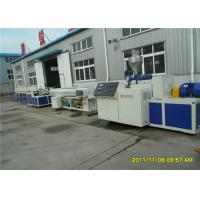 Wholesale Twin Pipe PE PVC Extursion production Line  For Architectural Pipe , PVC Twin Screw Pipe Making Machinery from china suppliers