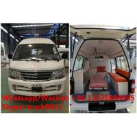 Wholesale Factory direct sale high quality and competitive price JINBEI gasoline transiting ambulance vehicle, ICU ambulance from china suppliers