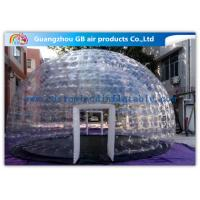 Wholesale Hot Air - Sealed Igloo Dome Transparent Inflatable Lawn Tent Clear Bubble Tent from china suppliers