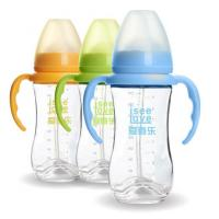 Wholesale 240ML Unbreakable Glass Baby Sipper Water Bottle Blue Pink Yellow Color Available from china suppliers