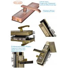 Buy cheap Hailanjia golden zinc alloy fingerprint password lock manufacturer since 2005 from wholesalers