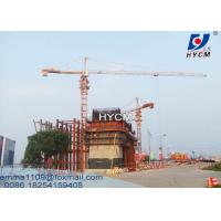 Quality 8T QTZ6012 Power Cable Kind Of Tower Cranes 60 meter Quotation Building Kren for sale