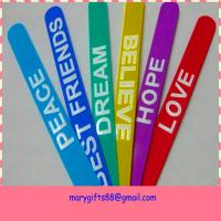 Wholesale hot selling fashion rubber silicone slap bracelet from china suppliers