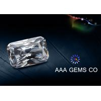 Wholesale 1 Carat Enhanced Moissanite Gemstone , Lab Created Moissanite from china suppliers