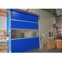 Wholesale Tight seal bottom rapid Speed industrial rolling door with water proof function from china suppliers