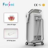 Wholesale Newest 2 handles Super vertical hair removal /ipl SHR hair removal beauty machine from china suppliers