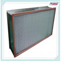 Wholesale High Efficiency Hepa Air Filters , Air Conditioner Hepa Filter Air Purifier from china suppliers