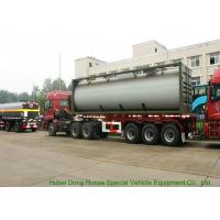 Wholesale UN1789  Hydrochloric Acid ISO Tank Container , Chemical ISO Liquid Container 30FT from china suppliers