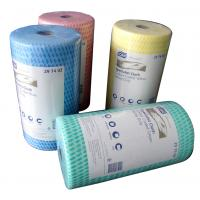 Wholesale House Cleaning Rags Bamboo Fiber Towel Roll with Viscose and Polyester from china suppliers