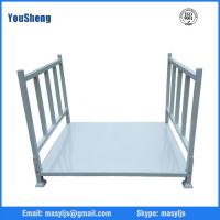 Wholesale Heavy duty Long Stacking Iron Rack in Blue+Green+Red colors for long rugs or fabrics rolls from china suppliers