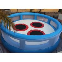 Wholesale 0.9mm PVC Attractive Inflatable Sports Games , Bungee Jumping Trampoline For Fun Games from china suppliers