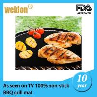 Wholesale Non-stick reusable BBQ Grill Mats as seen on tv  / Baking Barbecue Mat from china suppliers