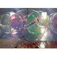Wholesale 1.0 mm Transparent PVC / TPU Inflatable Walk On Water Ball EN71 Standard from china suppliers