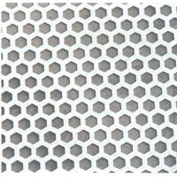Wholesale Hexagon Shape Galvanized Perforated Stainless Steel Sheet 201 304 AISI ASTM from china suppliers