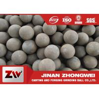 Wholesale Mineral used forged steel balls B2 B3 60mn material HRC 55-65 from china suppliers