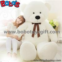 "Quality 55"" Wholesale Price White Giant Push Bear Animal Toys as Christmas Gift for sale"