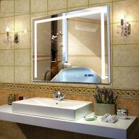 Quality Backlit LED mirror for shower room ,living room, hotel backlit mirror led for sale