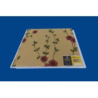 Wholesale Artistic Indoor PVC Wall Panel Luxury Flower Laminate Wall Sheets from china suppliers