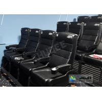Wholesale Update 4D Theater Equipment Seats With Three Ultra Features And Physical Effect Technology from china suppliers