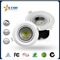 Dimmable 18W COB Led Recessed Ceiling Lights OEM & ODM Provide