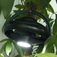 Buy cheap Portable 10 LED Tent Ceiling Fan / Multi Functional Camping Fan Light from wholesalers