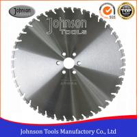 Wholesale 600mm Laser Welded Diamond Wall Saw Blades for Wall Saws , reinforced concrete saw blade from china suppliers